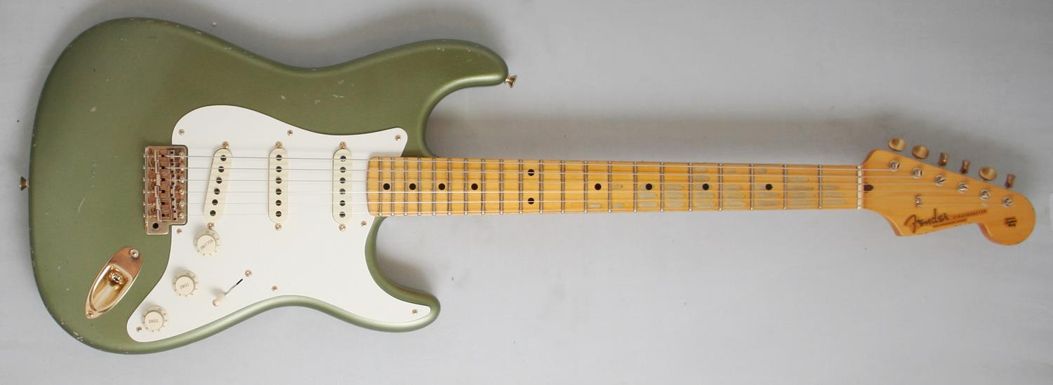 Fender Custom Shop Todd Krause Master Design 50s Stratocaster Relic Epiphone Les Paul Here Is An Example Of Modern And 50 S Wiring Moss Green
