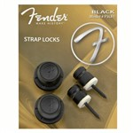 Fender F Strap Locks (Black)