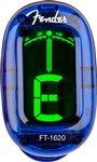 Fender FT-1620 California Series Clear Clip-On Tuner (Lake Placid Blue)