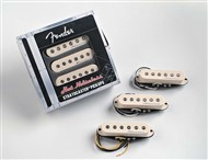 Fender Hot Noiseless Strat Pickups (Aged White, Set of 3)