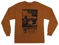 Fender Hotrod Hoodlums Long Sleeve Shirt (L, Orange)