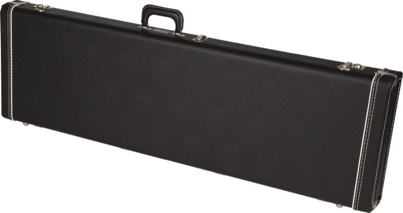 3a52ce86e0 Fender Jazz Bass Multi-Fit Hard Case (Black Tweed with Black Interior)  fender