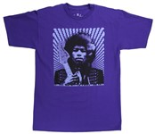 Fender Jimi Hendrix Kiss The Sky T-Shirt (XL, Purple)