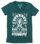 Fender Jukebox Est 1949 T-Shirt (XL, Evergreen)