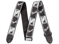 Fender Monogrammed Strap (Light Grey and Dark Grey)