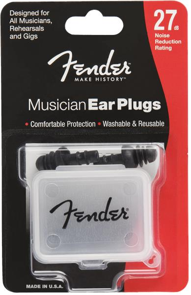 Fender Musician Series Ear Plugs (Black)