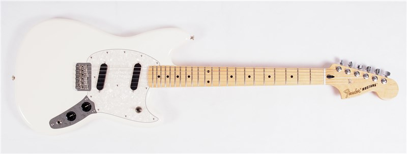 Fender Offset Mustang Olympic White Main