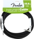 Fender Performance Series Instrument Cable (18.6ft Angled, Black)
