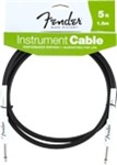 Fender Performance Series Instrument Cable, 5ft/1.5m , Black