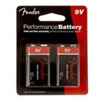 Fender Ultra Alkaline Battery Twin Pack
