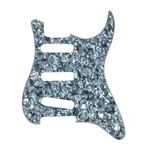 Fender Standard Strat Single Coil Pickguard (4-Ply, Black Pearl)