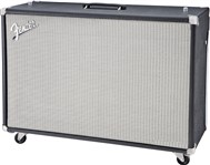 Fender Super-Sonic 212 Speaker Cab, Black/Silver Grille