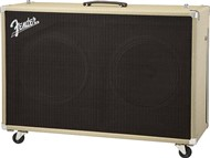 Fender Super-Sonic 212 Speaker Cab (Blonde with Oxblood Mesh)
