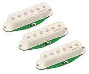 Fishman Fluence Strat Pickup Set (White)