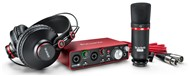 Focusrite Scarlett 2i2 Studio Pack Audio Interface/Mic Bundle, 2nd Gen