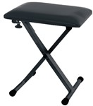 GEWA 900530 Keyboard Bench, Black