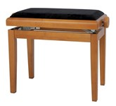 GEWA Piano Bench Deluxe, Oak