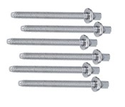 Gibraltar SC-4E Tension Rods (60mm, 6 Pack)