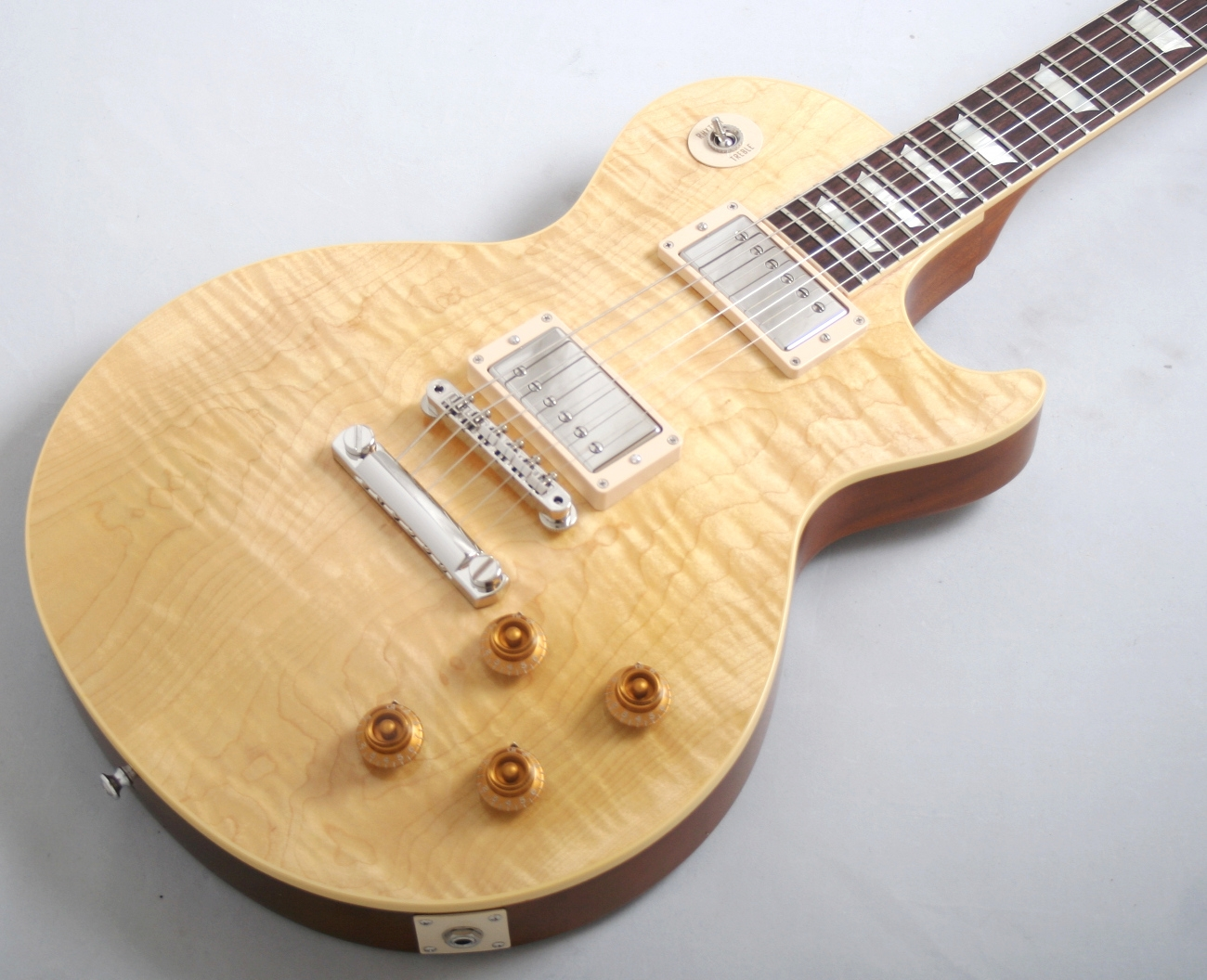 gibson 2013 custom shop handpicked 1958 les paul standard gloss natural. Black Bedroom Furniture Sets. Home Design Ideas