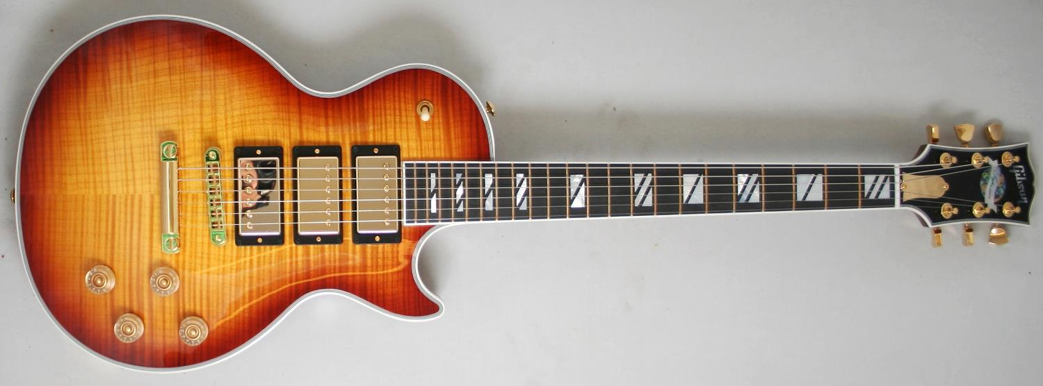 Gibson USA 2014 Limited Les Paul Supreme 3 Pickup (Honey Burst)