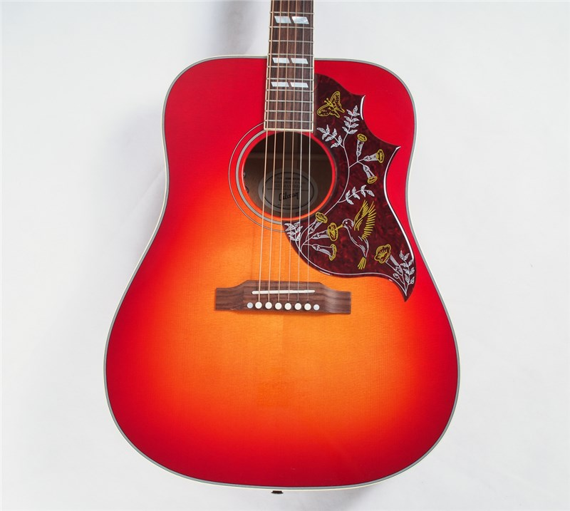 gibson hummingbird sunburst acoustic guitar gak. Black Bedroom Furniture Sets. Home Design Ideas