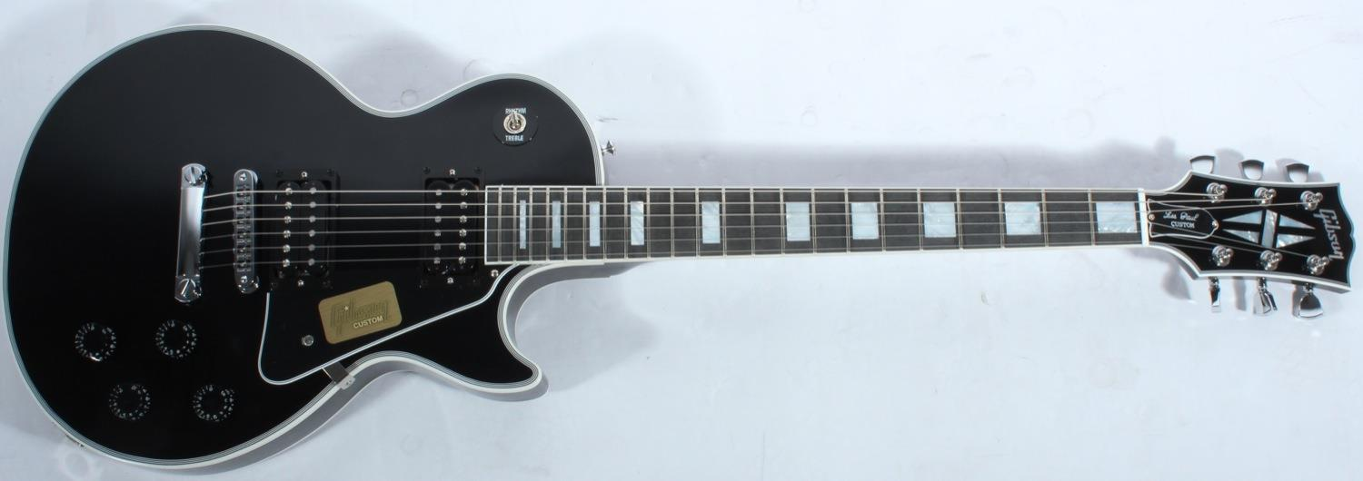 Les paul custom ebony chrome