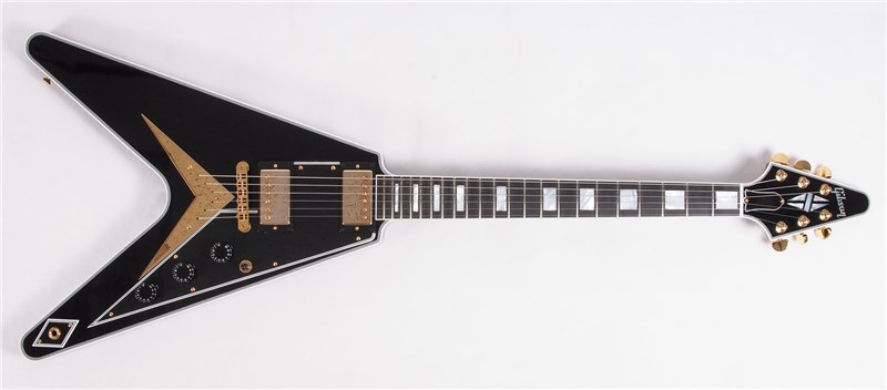 GibsonCustomLtdFlyingVCustomEbony-FrontFull