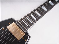 GibsonCustomLtdFlyingVCustomEbony-FrontNeck