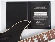 Gibson Custom Modern Double Cut Ebony 17