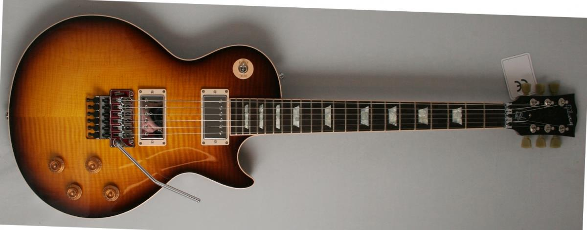 Gibson Custom Alex Lifeson Les Paul Axcess Viceroy Brown