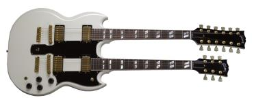 Gibson Custom Shop EDS-1275 Double Neck (Alpine White)