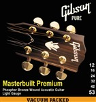 Gibson Gear Masterbuilt Premium Phosphor Bronze Acoustic, Super Ultra Light, 10-47