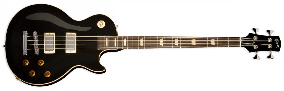 gibson les paul standard bass oversized ebony. Black Bedroom Furniture Sets. Home Design Ideas