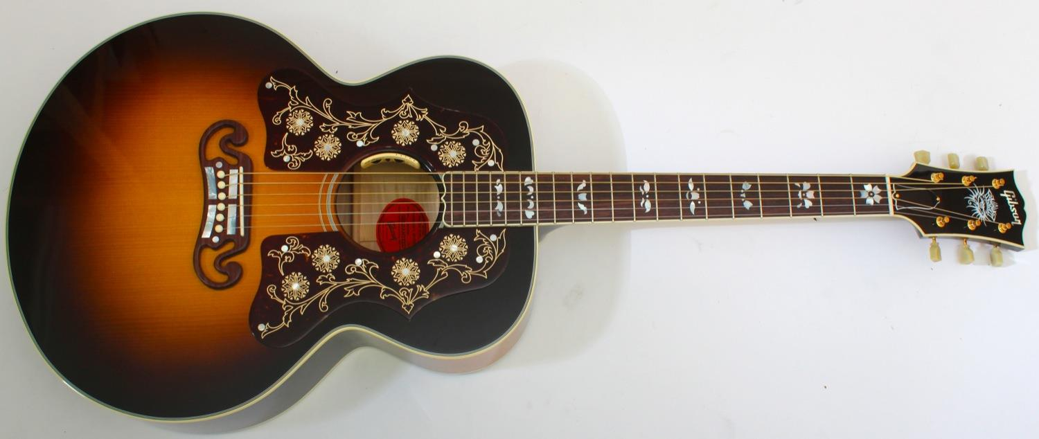 Gibson Acoustic Limited Edition SJ-200 Bob Dylan Player's Edition