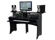 Glorious Workbench Studio Furniture Black