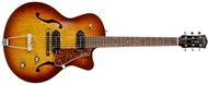Godin 5th Avenue CW Kingpin II, Cognac Burst