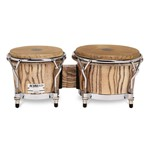 Gon Bops AA0785N Alex Acuna Signature Bongo, 7/8.5in, Natural Lacquer
