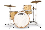 Gretsch BK-J483V USA Broadkaster 3 Piece Vintage Shell Pack (Antique Pearl)