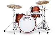 Gretsch USA Broadkaster 3 Piece Vintage Shell Pack 24in, Satin Copper