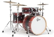Gretsch CA1-E825 Catalina Ash 5 Piece Shell Pack (Red Black Burst)