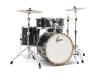 Gretsch CM1-E825 Catalina Maple 5 Piece Shell Pack (Black-Bronze Glitter)