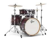 Gretsch CM1-E825 Catalina Maple 5 Piece Shell Pack, Satin Deep Cherry Burst