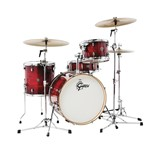 Gretsch CT1-J404 Catalina Club 4 Piece Shell Pack (Gloss Crimson Burst)