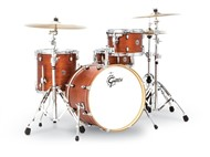 Gretsch CT1-J404 Catalina Club 4 Piece Shell Pack (Satin Walnut Glaze)
