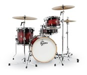 Gretsch CT1-J484 Catalina Club 4 Piece Shell Pack (Gloss Antique Burst)