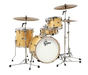 Gretsch CT1-J484 Catalina Club 4 Piece Shell Pack (Satin Natural)