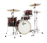 Gretsch CT1-J484 Catalina Club 4 Piece Shell Pack (Satin Walnut Glaze)