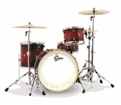 Gretsch CT1-R444 Catalina Club 4 Piece Shell Pack (Gloss Crimson Burst)