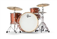Gretsch CT1-R444 Catalina Club 4 Piece Shell Pack (Satin Walnut Glaze)