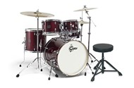 Gretsch Energy Series Drum Set Fusion (Wine Red)